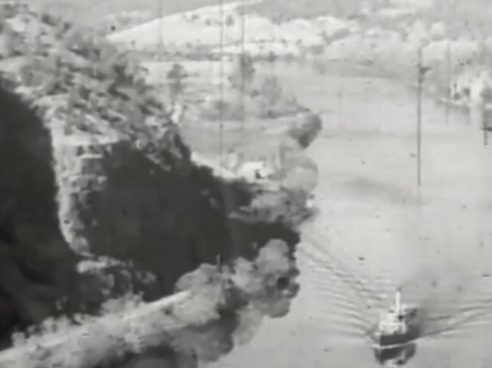 Screen Shot from The Isle of Many Waters by Frank Hurley--16.33