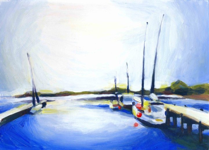 St Helens harbour- by Clementine Hauguenois