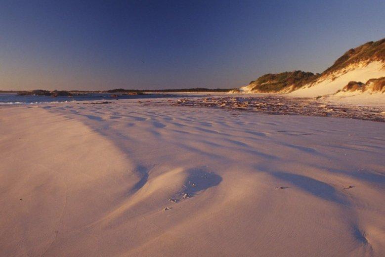 Beach near Eddystone Point - by Angus Munro