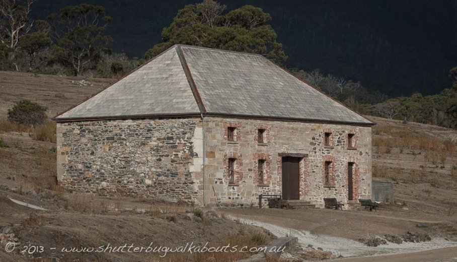 Commissariat store, circa 1825 - Maria Island - by Shutterbug Walkabouts