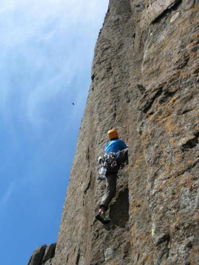 Climbing in Tasmania 001 - by Paul Monigatti