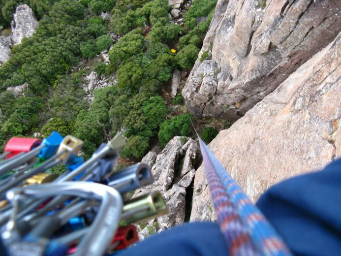 Climbing in Tasmania 132 - by Paul Monigatti