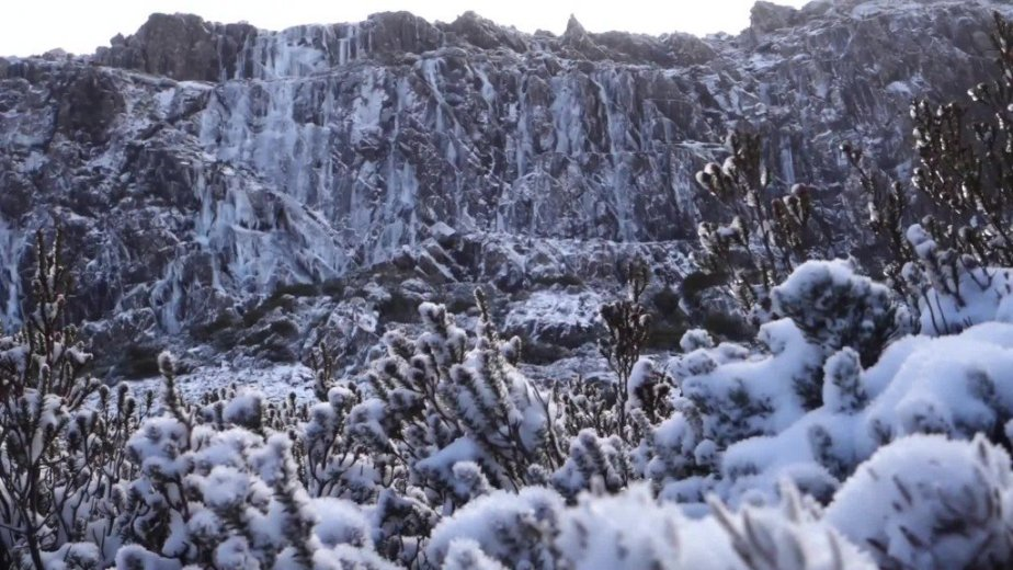 Ice Climbing Tasmania - by Wild Oates Productions with Kim Ladiges - 006