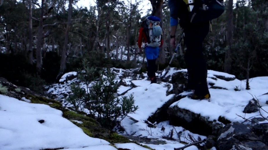 Ice Climbing Tasmania - by Wild Oates Productions with Kim Ladiges - 018