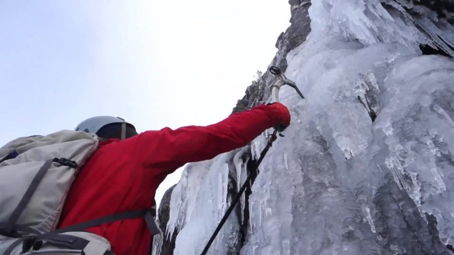 Ice Climbing Tasmania - by Wild Oates Productions with Kim Ladiges - 037