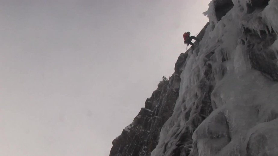 Ice Climbing Tasmania - by Wild Oates Productions with Kim Ladiges - 045