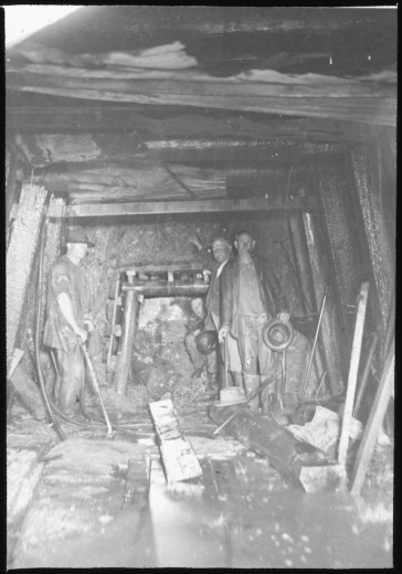Miners - by WJ Mildenhall c1901