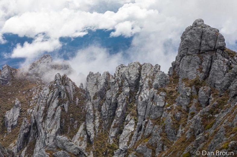 Climbing The Needles, a very fun side trip- by Dan Broun