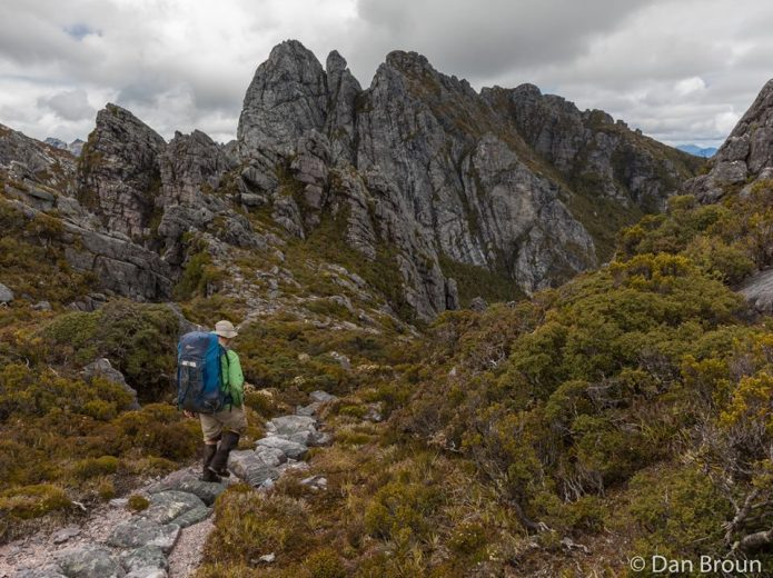 Reaching the heights - and the beginning - of the Eastern Arthurs- by Dan Broun