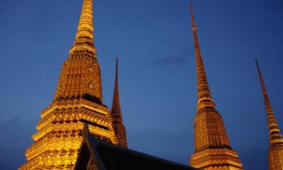 Wat Po Bangkok famous and favourite tourist visit