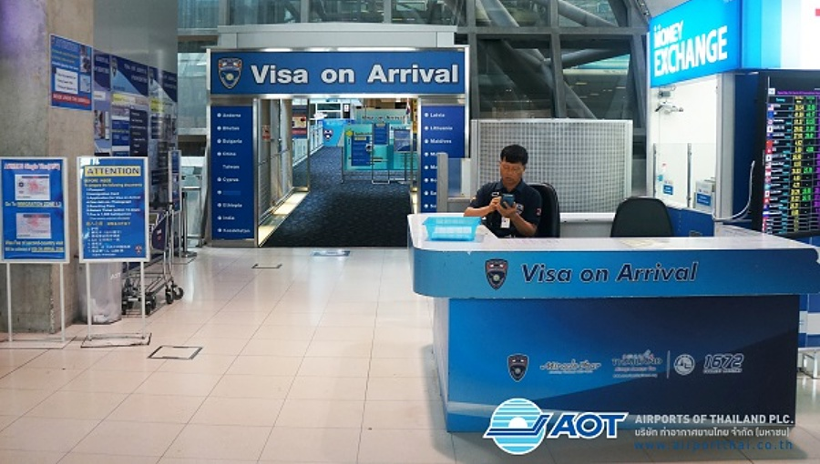 Thailand extends free visa-on-arrival until 31 October 2019
