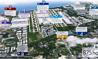 The Aerotropolis project, part of a 15- year aviation development plan for Thailand