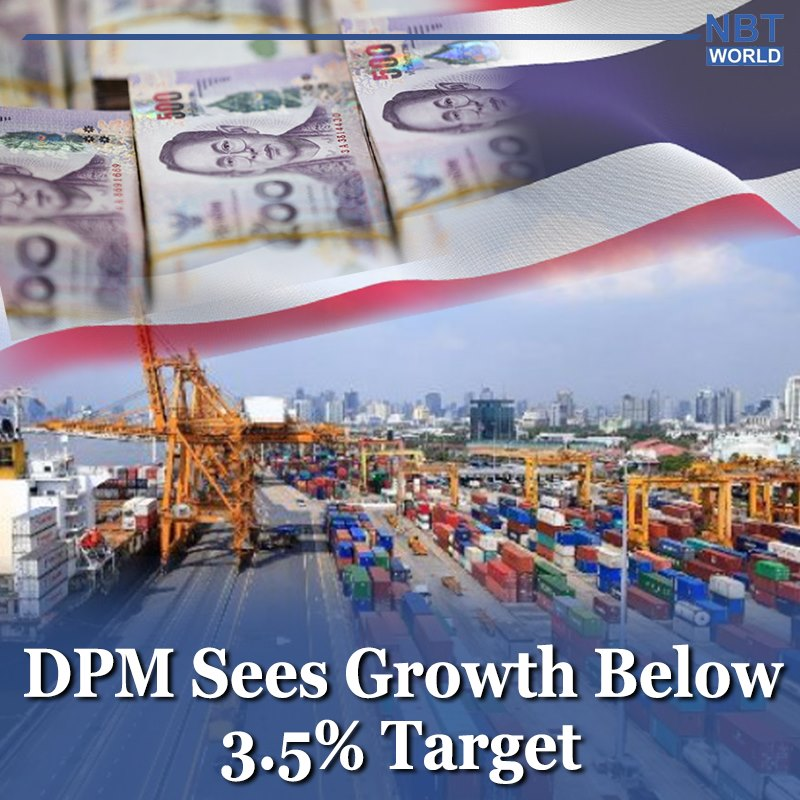 Thai Economy likely to miss the 3.5% growth target