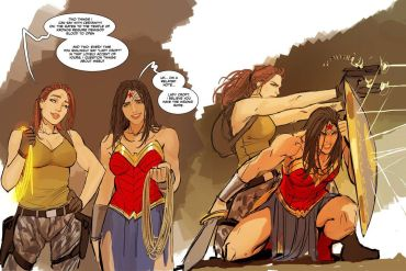 Wonder Woman Femslash cover