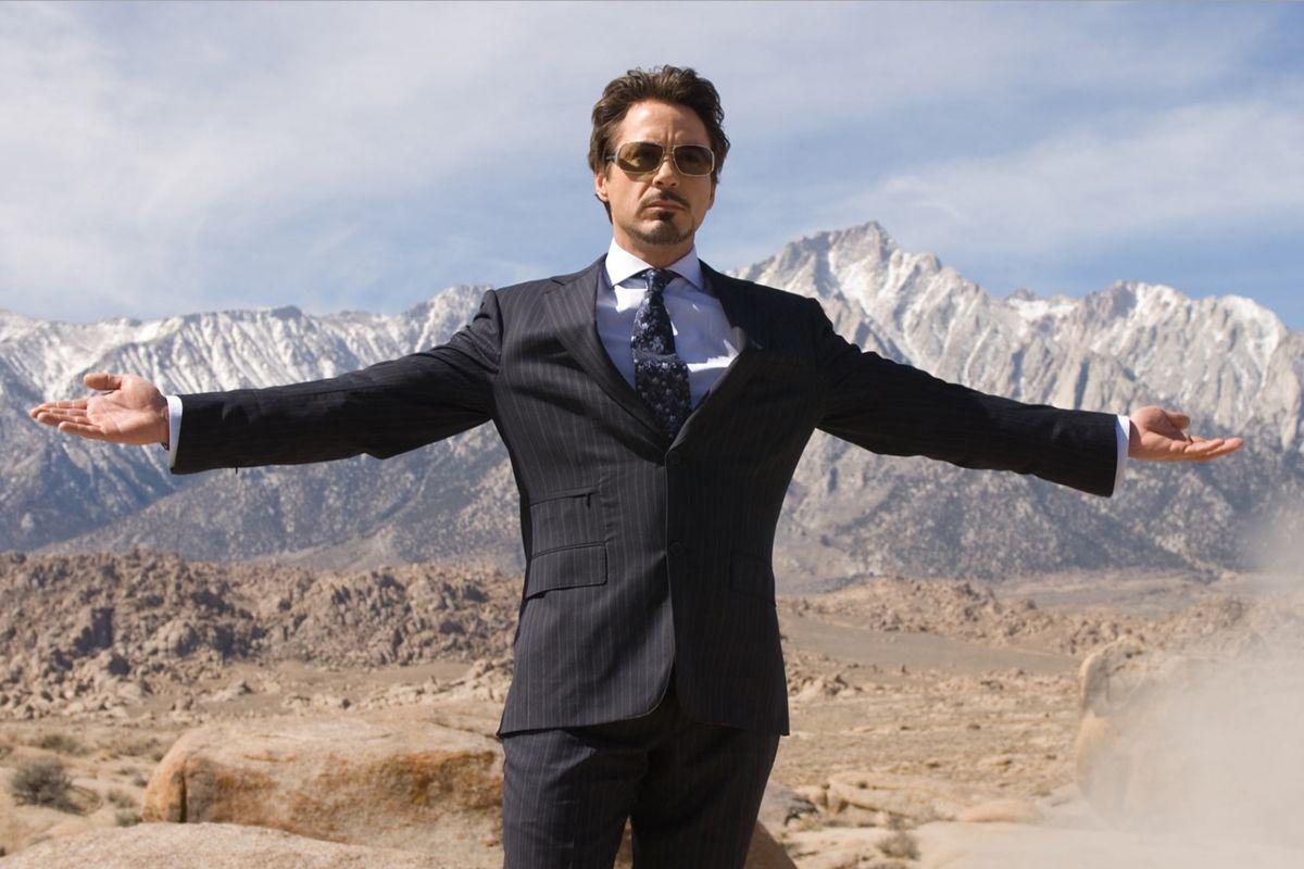 tony stark in iron man (2008)