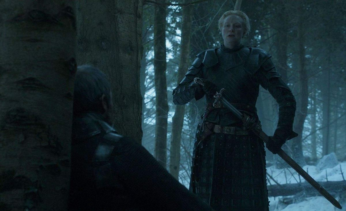 brienne of tarth sentences stannis baratheon to death