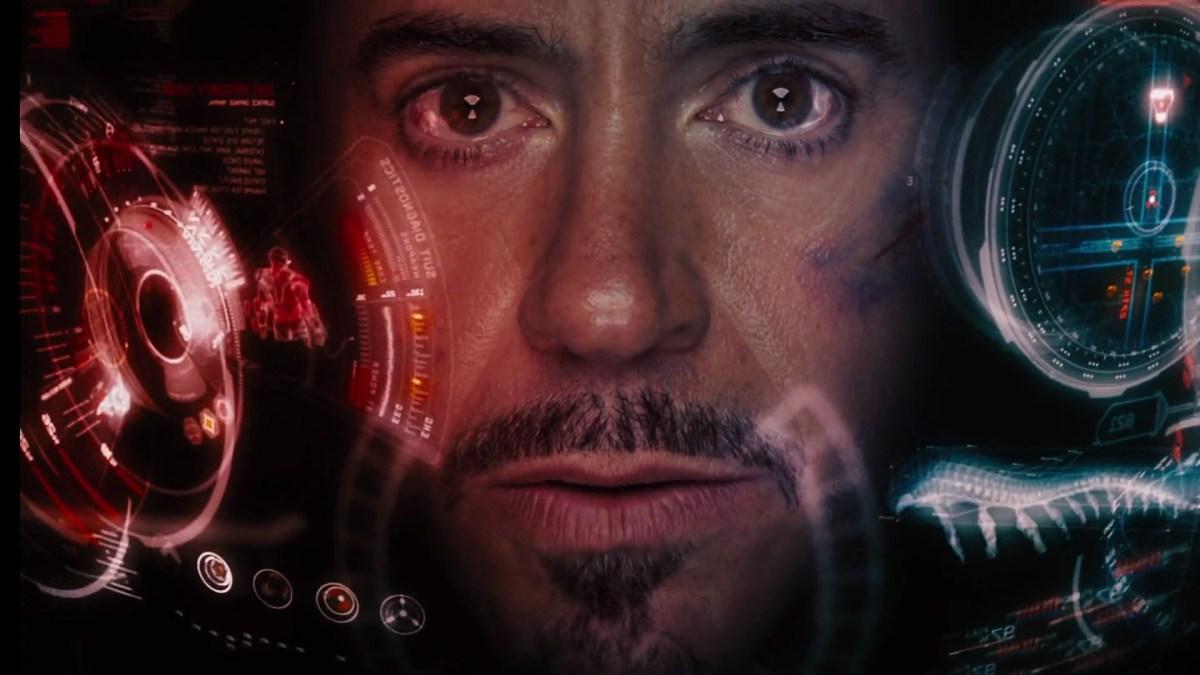 tony stark as iron man in the avengers (2012)