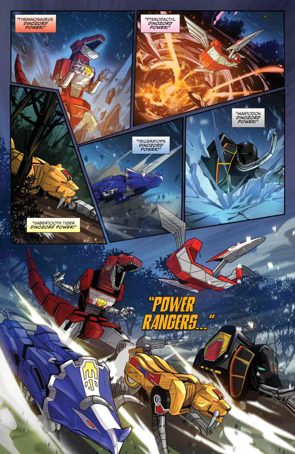Go Go Power Rangers: Forever Rangers #1