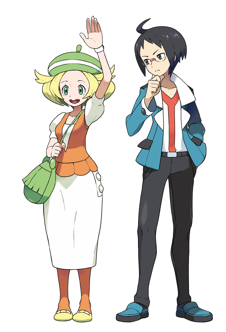pokemon rivals bianca and cheren
