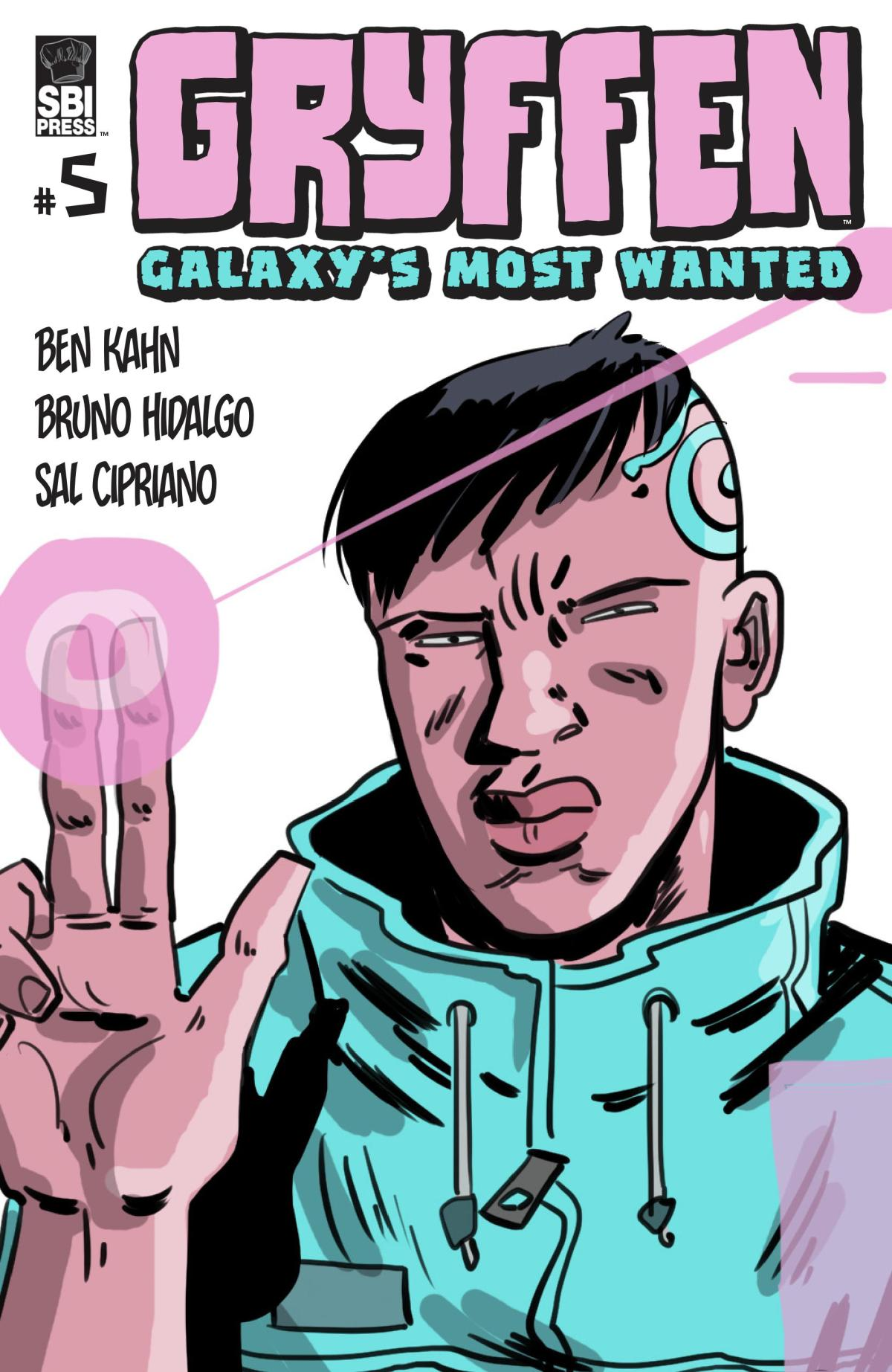 Gryffen: Galaxy's Most Wanted #5 Cover.