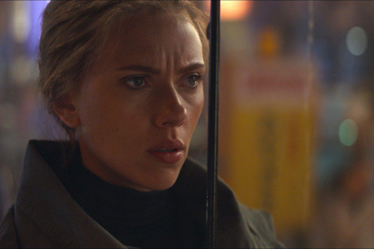 Natasha Romanoff confronts Clint Barton.