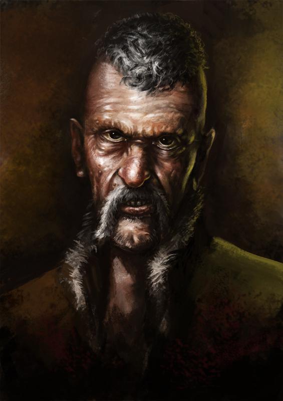 Leo Bonhart the bounty hunter