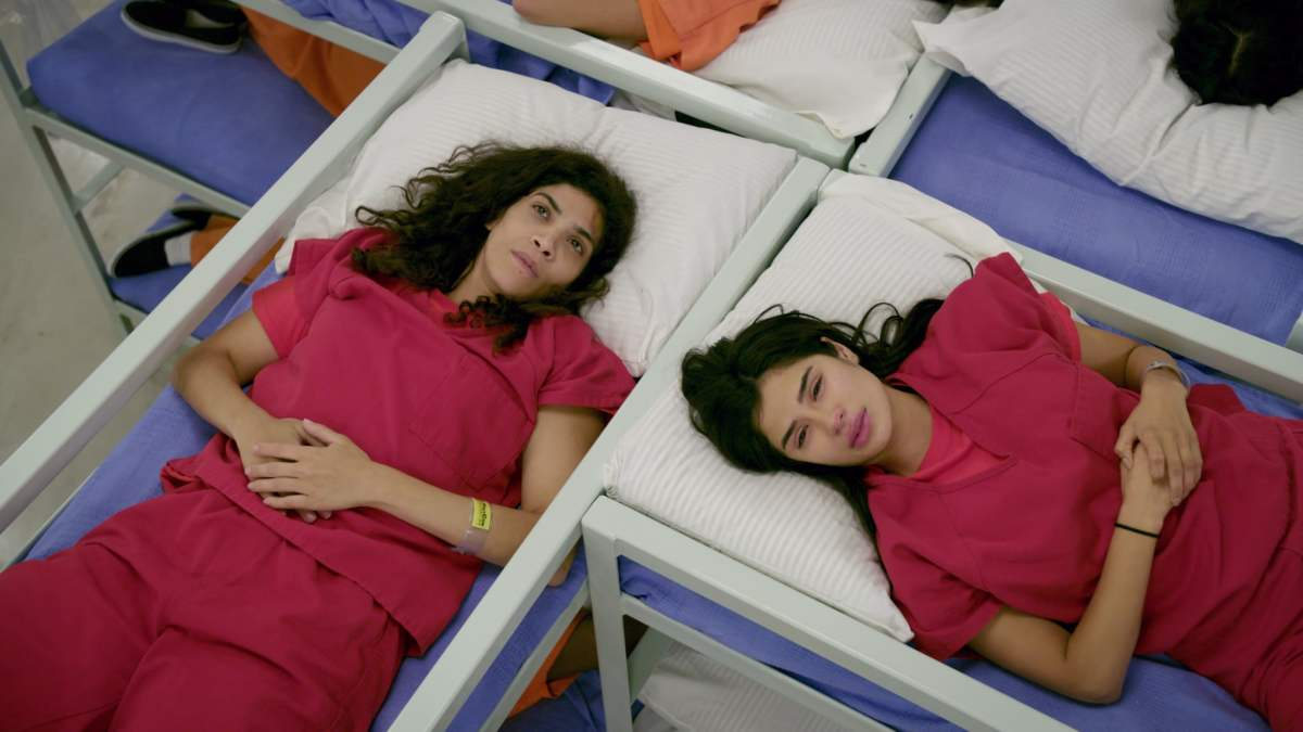 Maritza and Blanca at an ICE detention center in Orange Is The New Black
