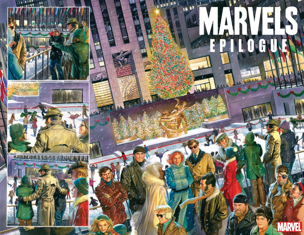 A Christmastime moment with Phil Sheldon and the X-Men.