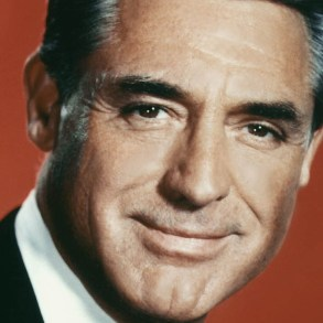 Cary Grant, one of the OG middle-aged silver foxes.