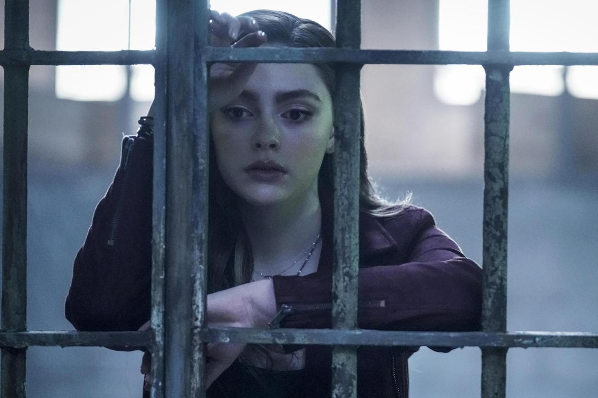 Hope Mikaelson from The CW's Legacies.