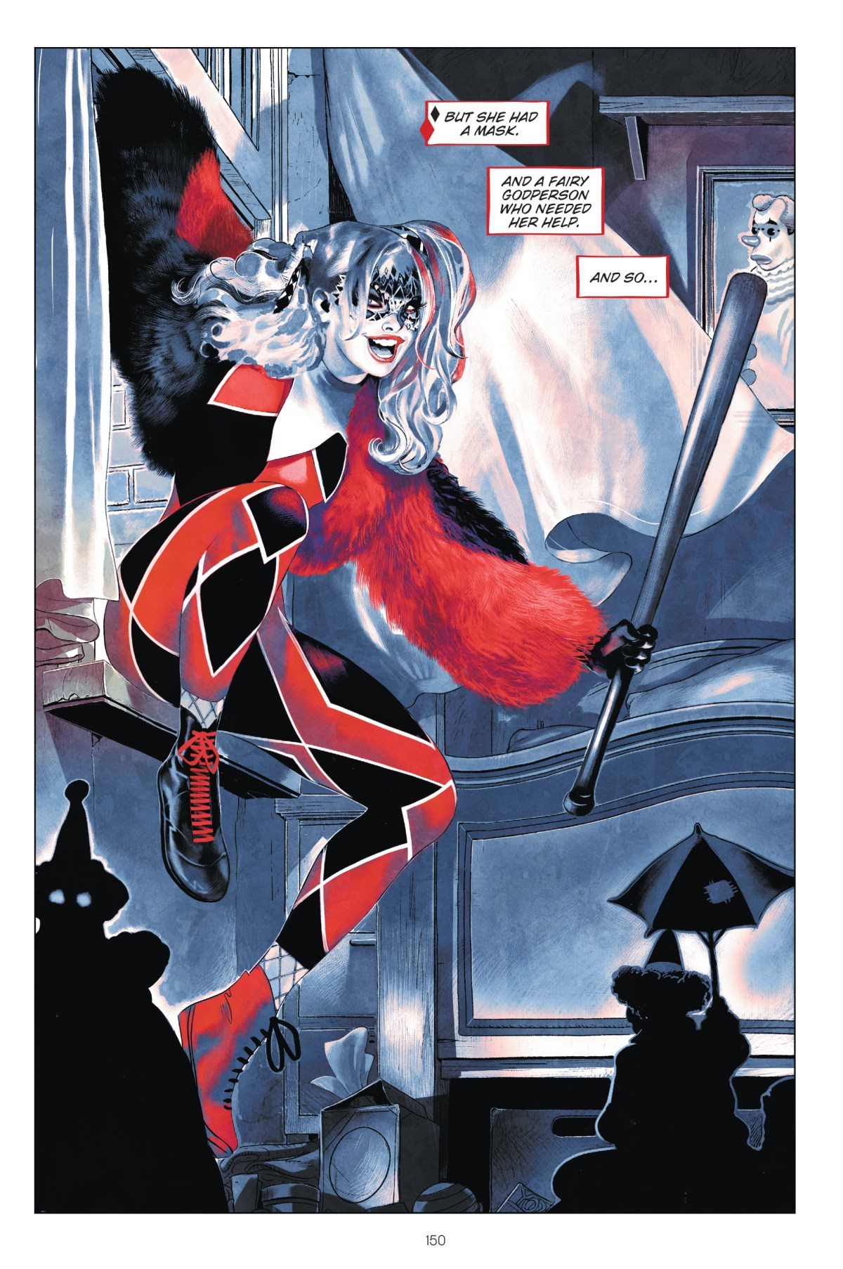 Harley Quinn: Breaking Glass Page 150, DC 2019.