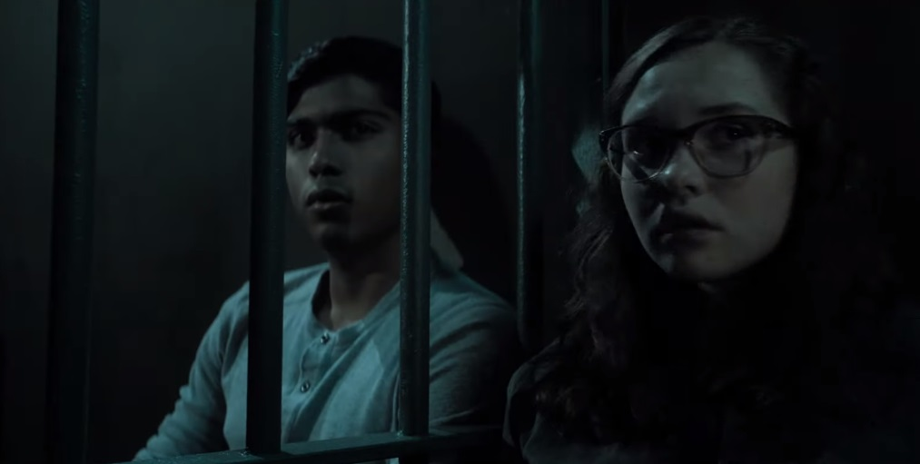 Ramon and Stella are sitting together in jail as he tells her the whole truth.