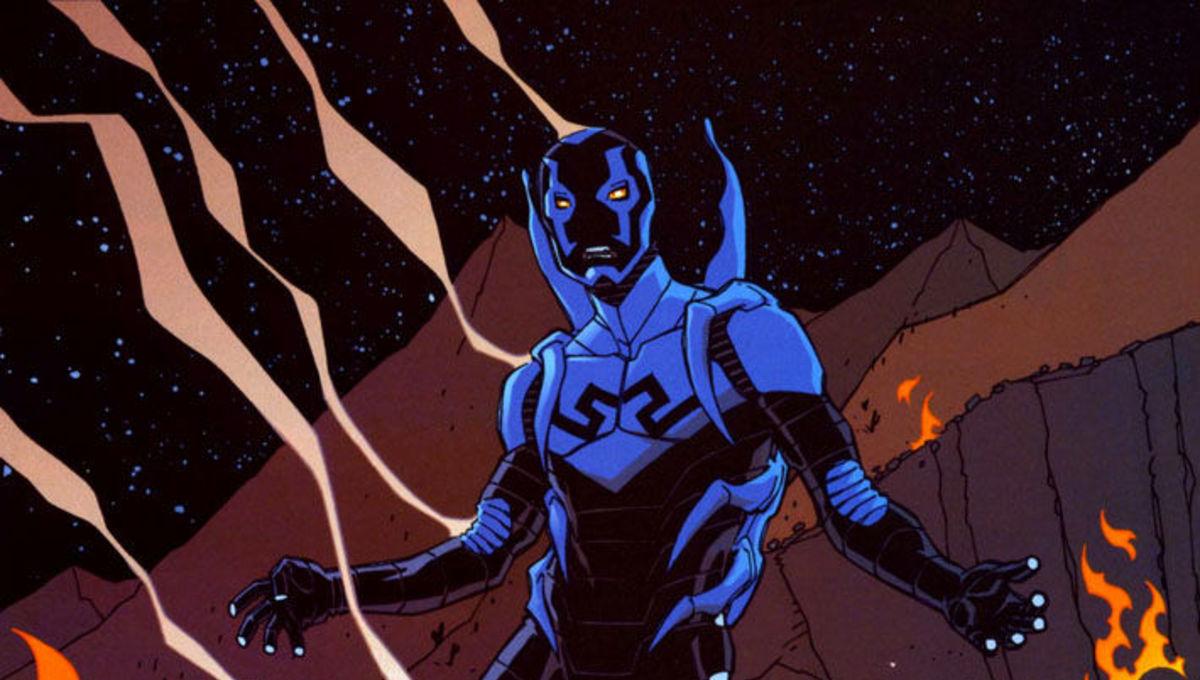 Jamie Reyes as Blue Beetle in DC.