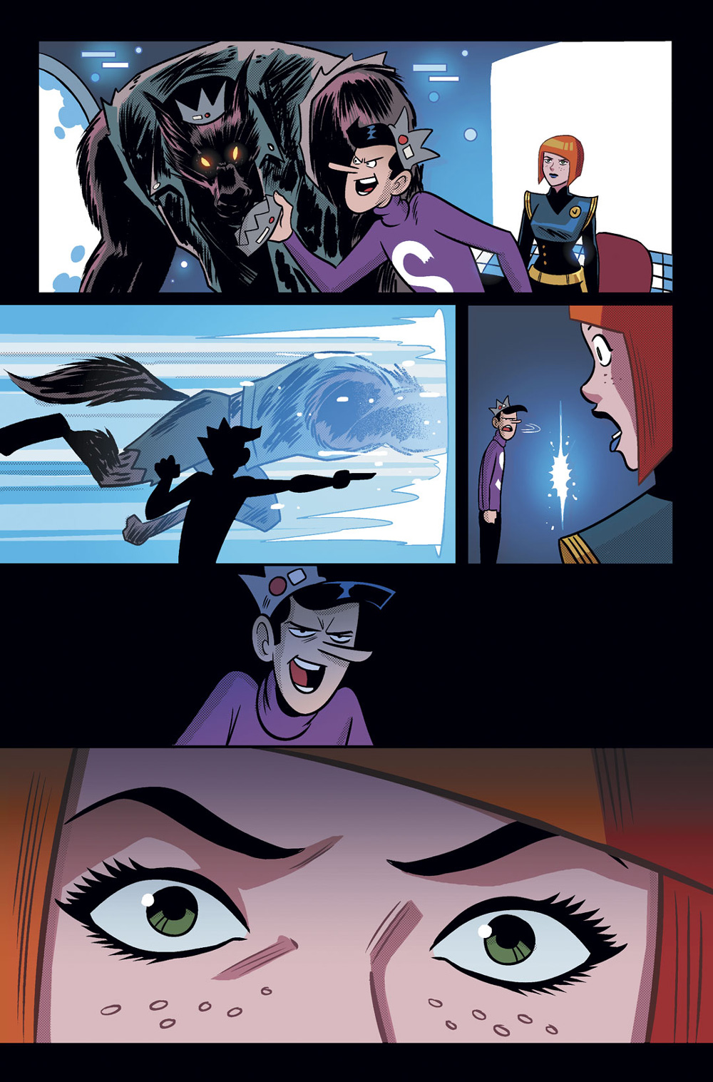 Time Police, Page 11, Archie Comics (2019)