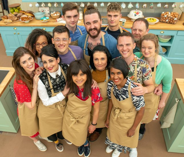 The cast of the tenth season of The Great British Baking Show.