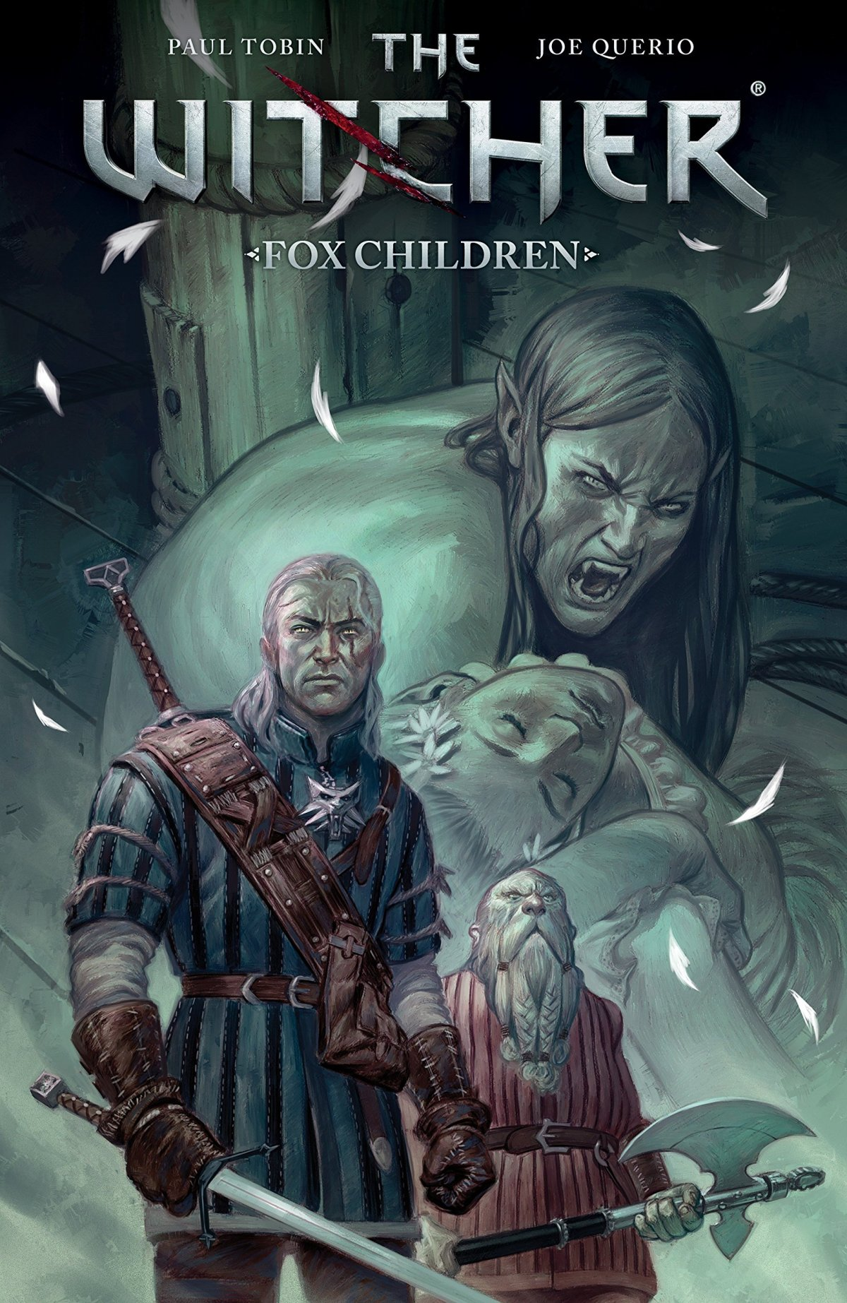 The cover of The Witcher: Fox Children