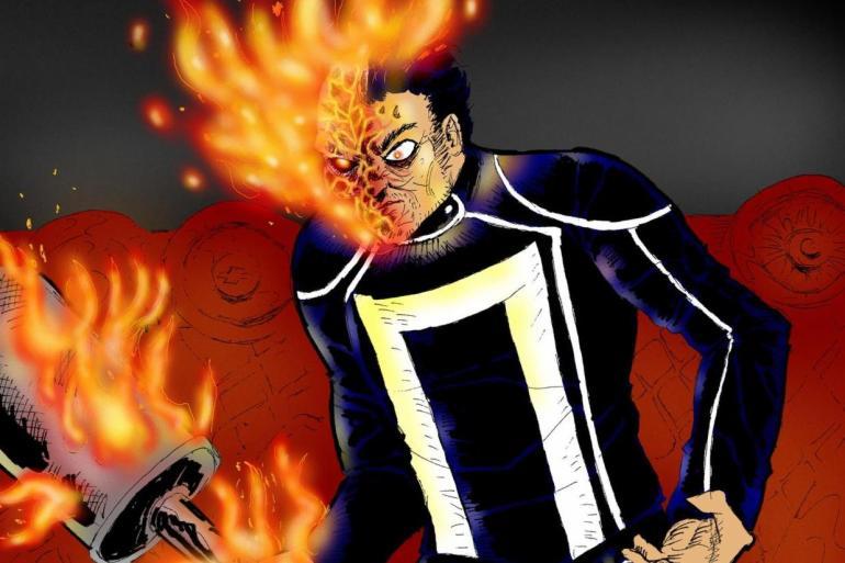 Latinx Superheroes, Ghost Rider.