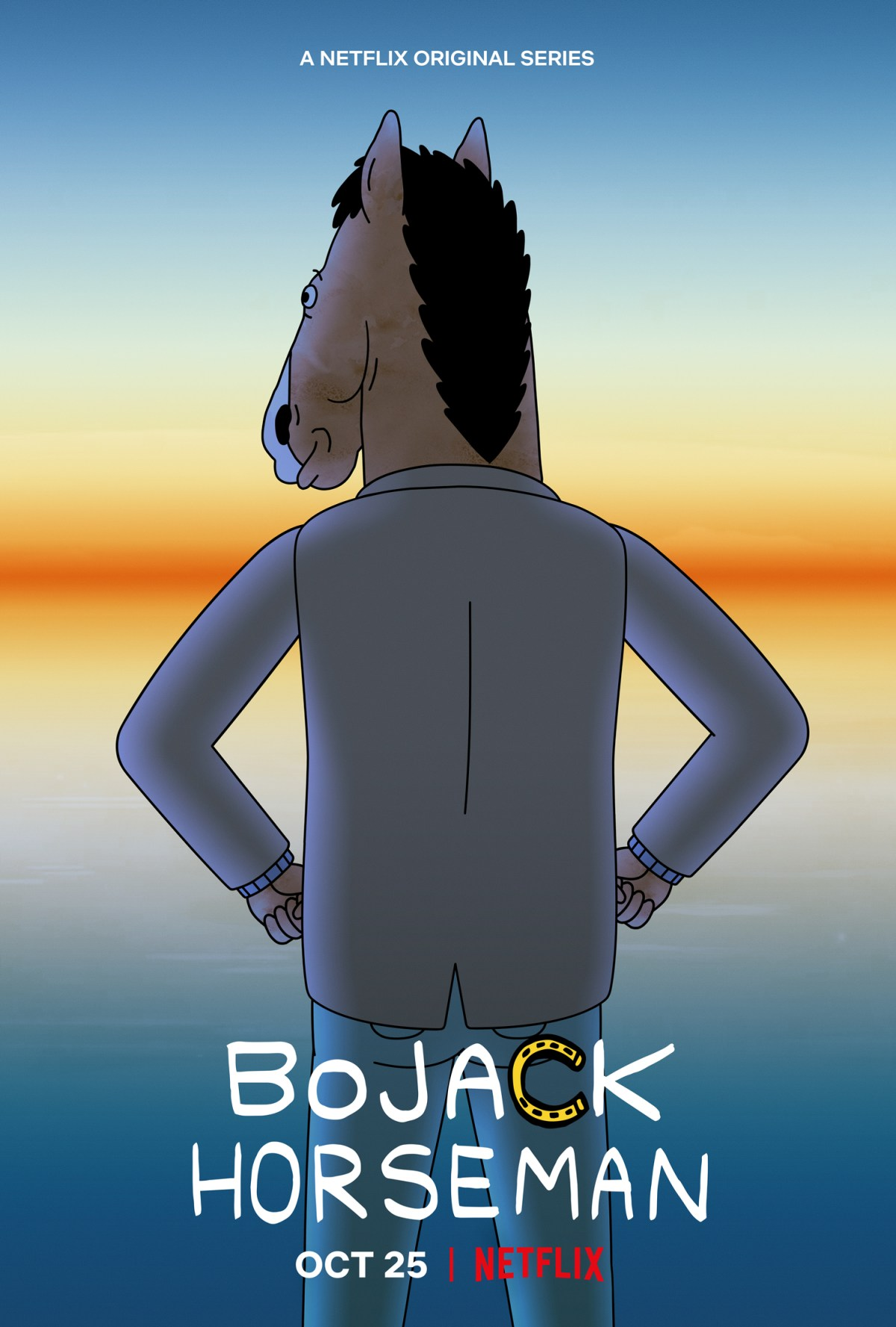 The Sn. 6 Bojack Horseman Officially Netflix Poster.