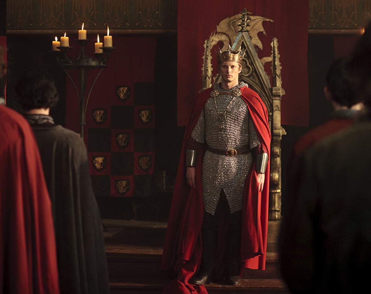 Merthur: Arthur Pendragon is crowned king of Camelot in BBC's Merlin.