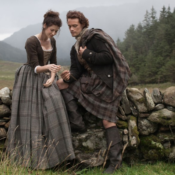 James Fraser and Claire Beauchamp