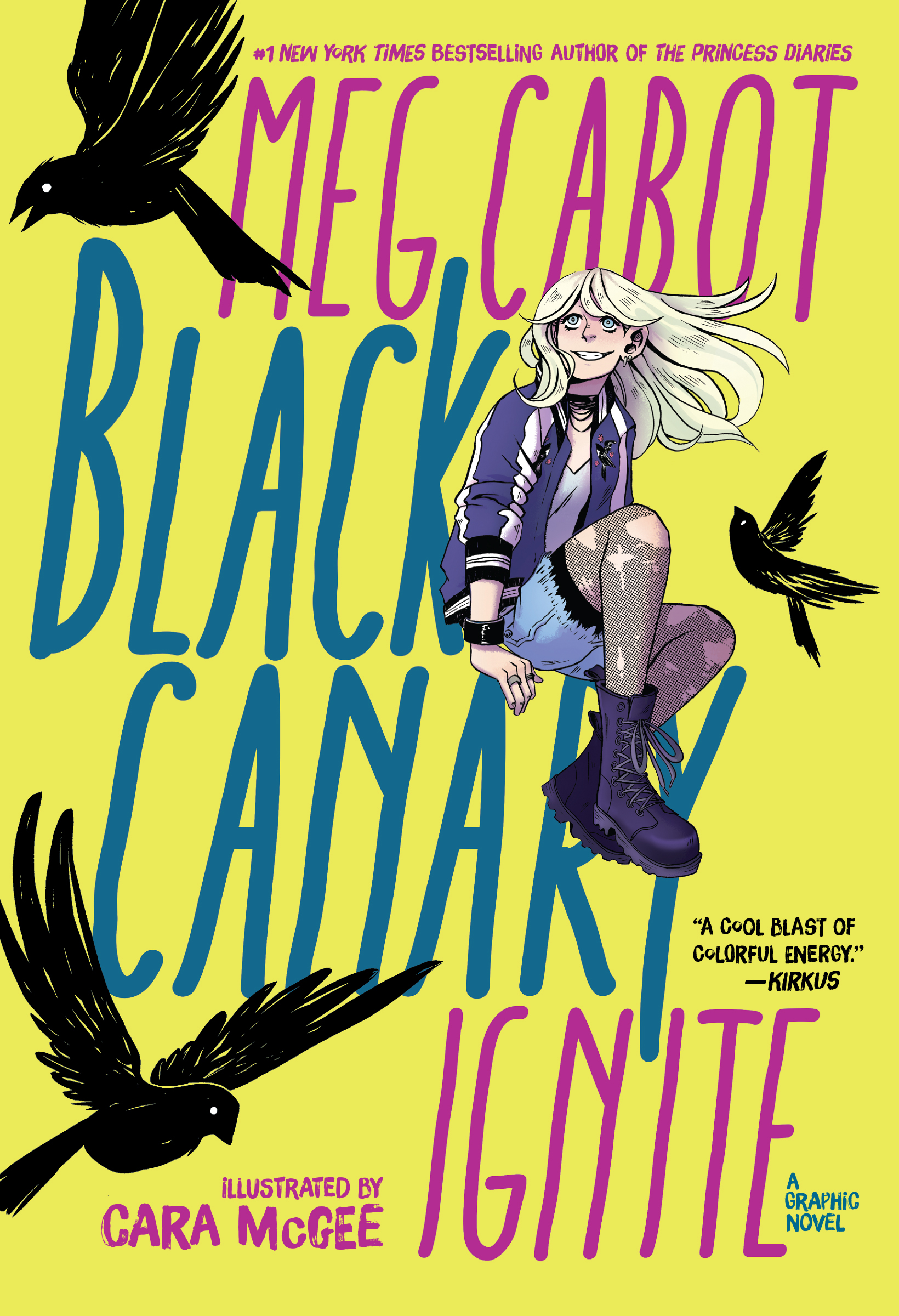Black Canary: Ignite; Cover; DC & DC Zoom, 2019.
