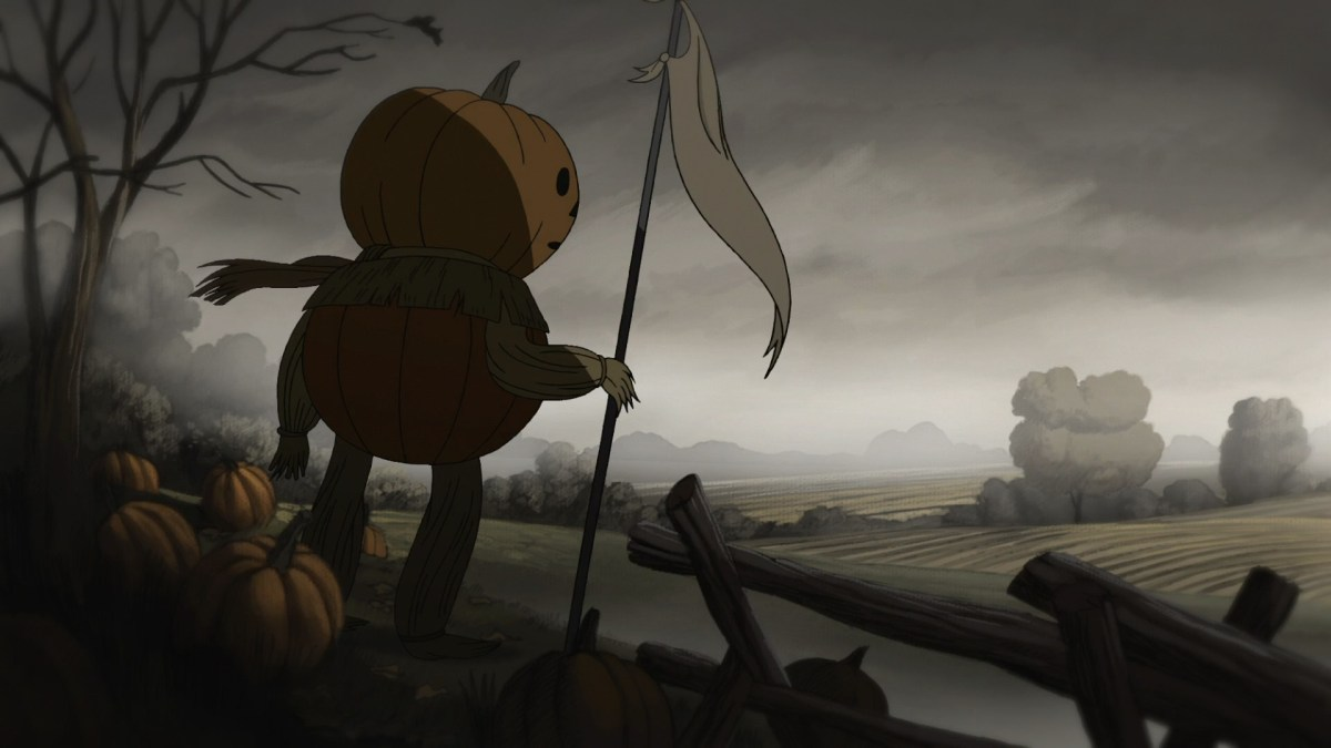 Over the Garden Wall, Episode Hard Times at the Huskin' Bee