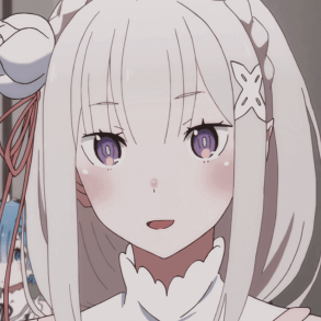 Re:Zero Episode 4, The Happy Roswaal Mansion Family, Emilia smiling