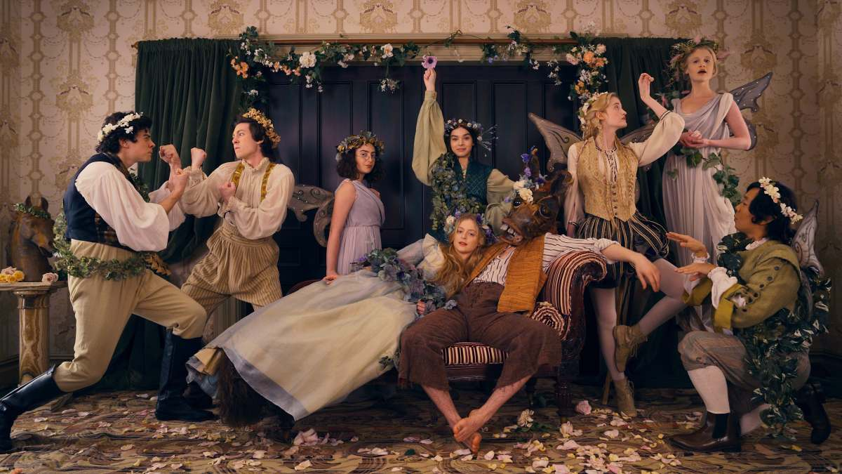 The cast of Dickinson while they look collected and cool.