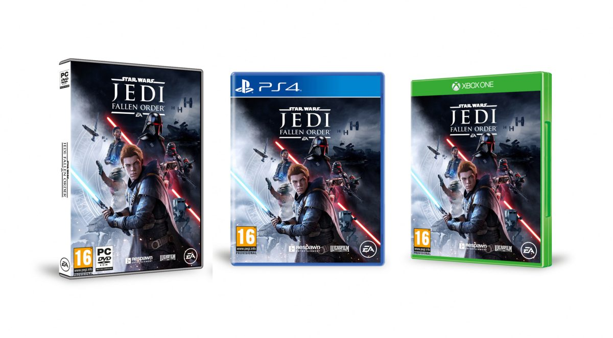 All three versions of the video game Jedi Fallen Order