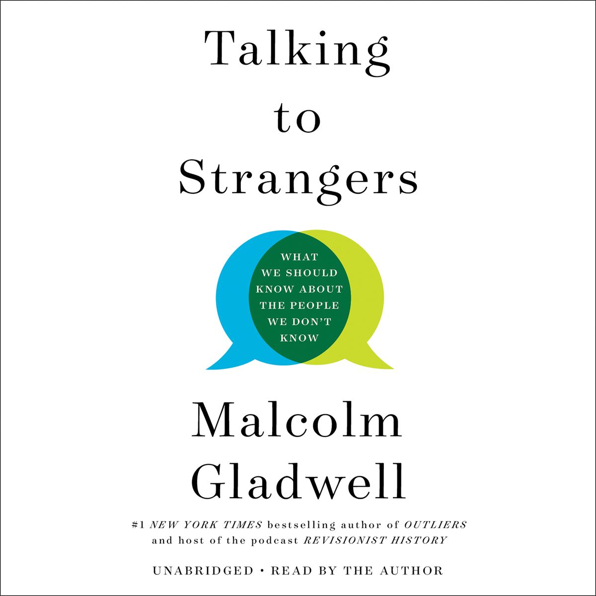 Cover of Talking To Strangers, found on Audible.com