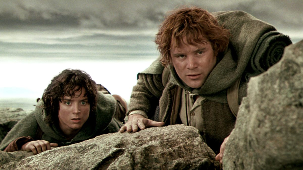 Friendships: Frodo and Sam on their way to Mordor.