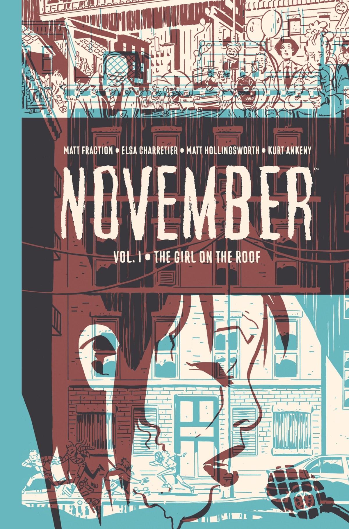 Cover Image. November Volume I, Image Comics (2019).