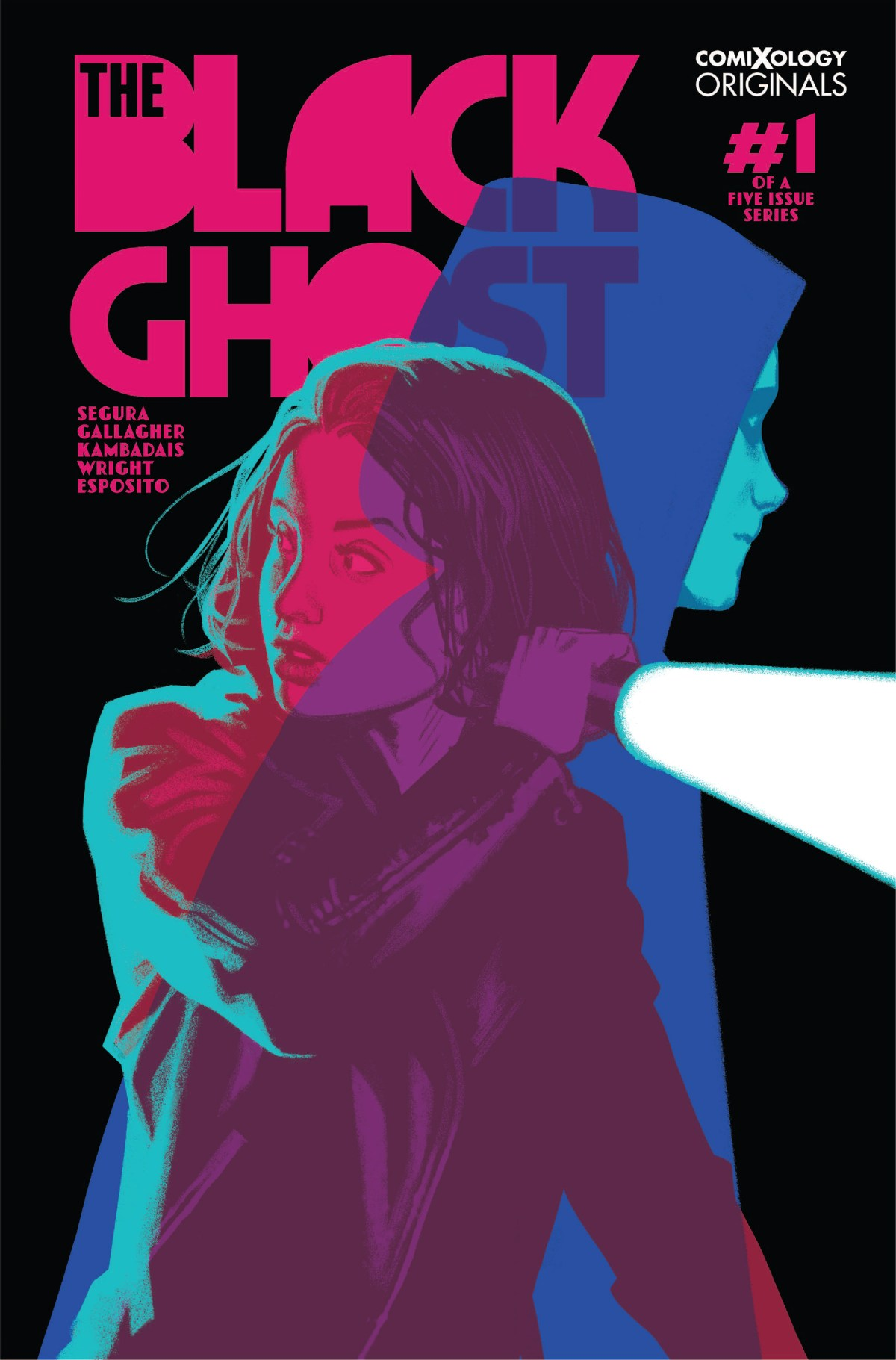 Cover; New Wave Comics, 2019.