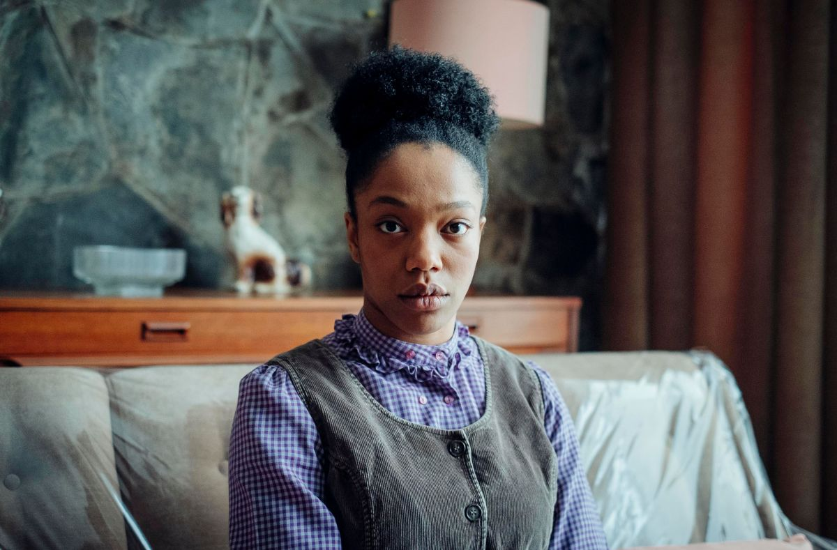 Naomi Ackie as Bonnie in THE END OF THE FUCKING WORLD 2 on Netflix (2019).